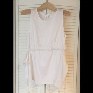 NWT! Club Monaco Peplum Tank Top